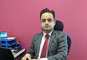 Sandeep Sharma, Founder & CEO, Cogent Transware Solutions
